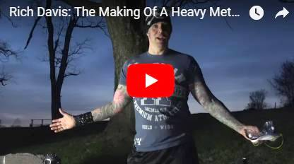 Rich Davis - Making of a Heavy Metal Song/Video #3